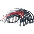 New Mercedes Benz Spark Plug Ignition Wire Set 12PCS 1121500218 for E320 ML320 ML350 SLK32 AMG SLK32