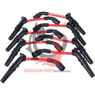 GM CHEVY PONTIAC CHEVROLET LS1 LS2 LS3 ENGINE 10.2MM HUGE SPARK PLUG WIRES SET RED