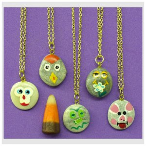 Pet Rock Necklace