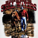 Authentic Christian Sportsmen Cowboy Tee Size M