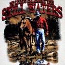 Authentic Christian Sportsmen Cowboy Tee Size M