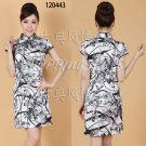 Chinese clothing qipao Embroidered dress gown 120443 multi-color 30-36 in stock  free shipping