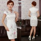 Chinese clothing qipao Hand-painted wedding dress gown 120452 china size 30-38
