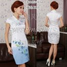 Chinese clothing qipao Embroidered wedding dress gown 120453 china size 30-38