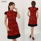 chinese cheongsam clothes gown qipao dress 120458 size 30-38 in winter for women