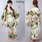 kimono wedding clothing dress dancwear suit 121703 multi-colored adult one size