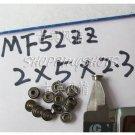 1pc MF52ZZ 2x5x2.3 Flanged 2*5*2.3 mm MF52Z Miniature Ball Radial Bearing MF52 Z  free shipping