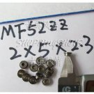 10pcs MF52ZZ 2x5x2.3 Flanged 2*5*2.3 mm MF52Z Miniature Ball Radial Bearing MF52 Z  free shipping