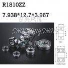 "1pcs R1810 ZZ 5/16""x 1/2""x 5/32 inch Miniature Ball Radial Ball Bearings R1810ZZ"