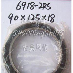 1pc thin 6918-2RS RS bearings Ball Bearing 6918RS 90X125X18 mm 90*125*18 6918RS  free shipping