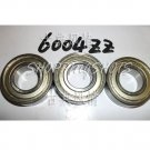 (10) 6004-2Z ZZ Deep Groove Ball Bearing ABEC1 20x42x12 6004Z 6004ZZ 20*24*12 mm  free shipping
