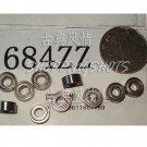 (1) 684 ZZ Miniature Bearings ball Mini bearing 4x9x4 684Z 4*9*4 684ZZ 2Z ABEC1  free shipping