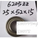10pcs) 6205-2Z ZZ Deep Groove Ball Bearing 25x52x15 bearings 25*52*15 mm 6205Z  free shipping