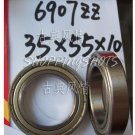 1pcs thin 6907-2Z ZZ bearings Ball Bearing 6907ZZ 35X55X10 35*55*10 6907Z 6907ZZ  free shipping