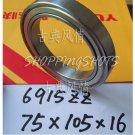 1pcs 6915-2ZZ ZZ bearings Ball Bearing 6915ZZ 75X105X16 75*105*16 6915Z 6915ZZ  free shipping