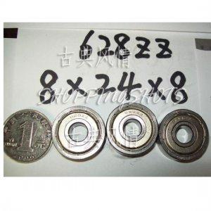 100 pcs 628-2Z ZZ Deep Groove Ball Bearing Quality 8x24x8 ABEC1 8*24*8 628Z 628ZZ  free shipping