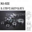 "10pcs R2-5ZZ 1/8""x 5/16""x 9/64"" R2-5Z inch Miniature Ball Radial Ball Bearings  free shipping"
