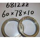 1 pc thin 6812-2Z ZZ bearings Ball Bearing 6812ZZ 60X78X10 60*78*10 mm 6812Z Z free shipping
