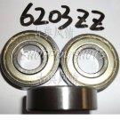(50pcs) 6203-2Z ZZ Deep Groove Ball Bearing ABEC1 17x40x12 17*40*12 6203Z 6203ZZ  free shipping