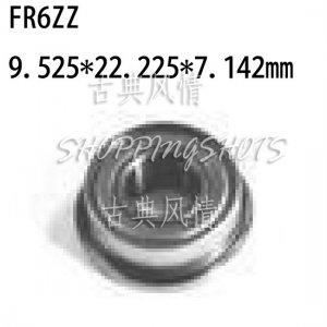 "1pcs FR6-2Z Flanged 3/8""x 7/8"" X 9/32"" FR6ZZ inch Miniature Ball Radial Bearings  free shipping"