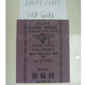 "10 Sheets emery Crocus emery Aluminium oxide cloth 9""X11"" 120 grit electro coated free shipping"