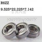 "1pcs R6 ZZ 3/8"" x 7/8""x 9/32"" inch Bearing Miniature Ball Radial Bearings R6ZZ  free shipping"