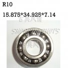 "10pcs R10 open 5/8""x 1 3/8"" X 0.281 inch Bearing Miniature Ball Radial Bearings free shipping"
