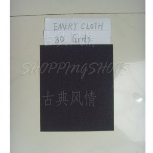 "free shipping 20 Sheets emery Crocus emery Aluminium oxide cloth 9""X11"" 80 grit electro coated"