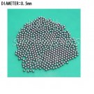 free shipping  10000pcs Dia/Diameter 0.5 mm bearing balls Carbon steel ball bearings in stock