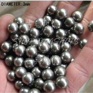 free shipping  600pcs Dia/Diameter 3 mm bearing balls Carbon steel ball bearings in stock
