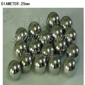 free shipping 10 pcs Dia/Diameter 25 mm bearing balls Carbon steel bearings ball in stock