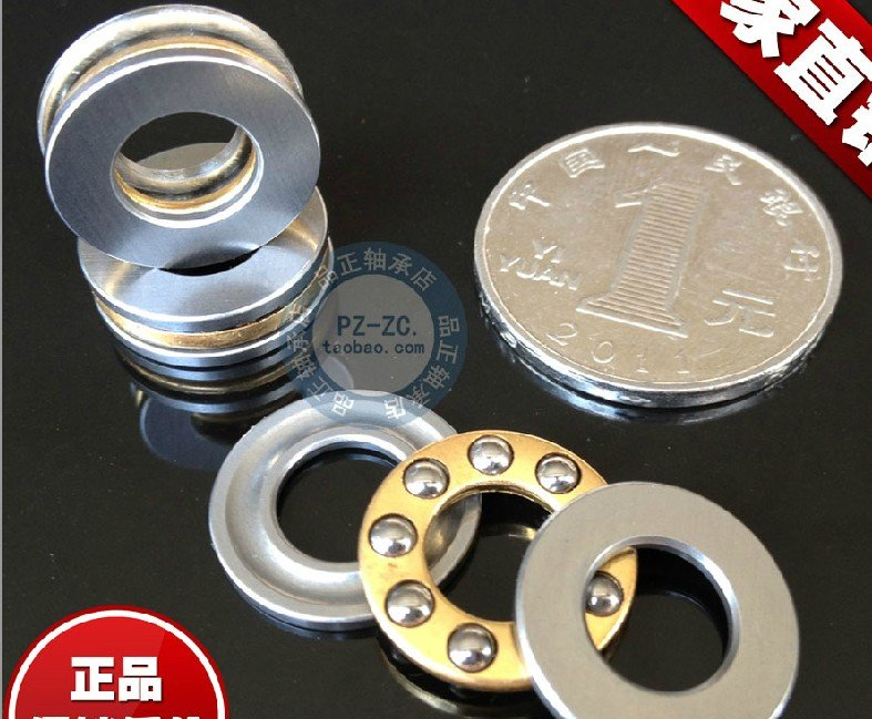 1pc 2.5 x 6 x 3 mm F2.5-6M Axial Ball Thrust quality Bearing 3-Parts 2.5*6*3