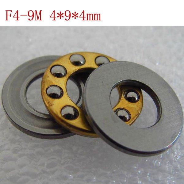 10pcs 4 x 9 x 4 mm F4-9M Axial Ball Thrust quality Bearing 3-Parts 4*9*4 ABEC1