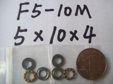 1pcs 5 x 10 x 4 mm F5-10M Axial Ball Thrust quality Bearing 3-Parts 5*10*4 ABEC1