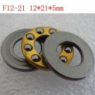 1pcs 12 x 21 x 5 F12-21M Axial Ball Thrust quality Bearing 3-Parts 12*21*5 ABEC1