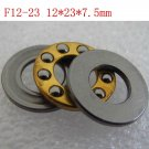 10pcs 12 x 23 x 7.5 F12-23M Axial Ball Thrust quality Bearing 3-Parts 12*23*7.5