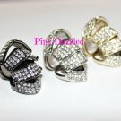 Celebrity Inspired Crystal Encrusted Armor Ring