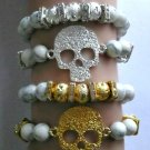 White Turquoise Skull Set