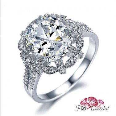 Luxury Oval Cut CZ Flawless Ring