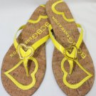 New BCBGENERATION WILD Sunshine Flip Flop Women's Shoes Size-11M