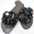 New MADDEN GIRL Black FLIP FLOPS Size-6.5