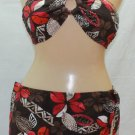 NEW Jag 2pc Skirted Bathing suit Size-L