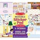 Melissa & Doug - Play House! Reusable Sticker Pad 11 x 14 (4197)