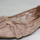 New Material Girl Woman's Ballet Flats Size-8M
