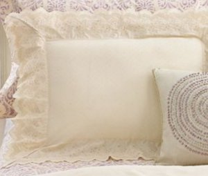 New Court of Versailles Campagne Metallique Standard Pillow Sham