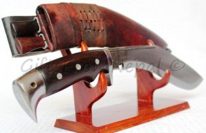 "10"" American Eagle Yak Leather khukuri  kukuri kukri blade gifts,ship from US"