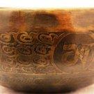 "6"" Hand Beaten/Painted Tibetian Singing bowl , FREE cushion,Retails-90"