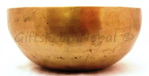 "7"" Hand Hammered Singing Bowl,  Made of 7 metals, FREE cushion,Retails- $100"
