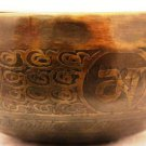 """6"""" Hand hammered/Painted Tibetian Singing bowl  , FREE cushion,Retails-90"""