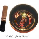 "5"" Tibetian Singing bowl - made of 7 metals, meditation bowls from Nepal 2002b"